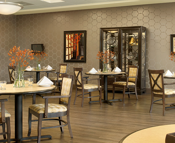 Upscale Nursing Home Dining Room